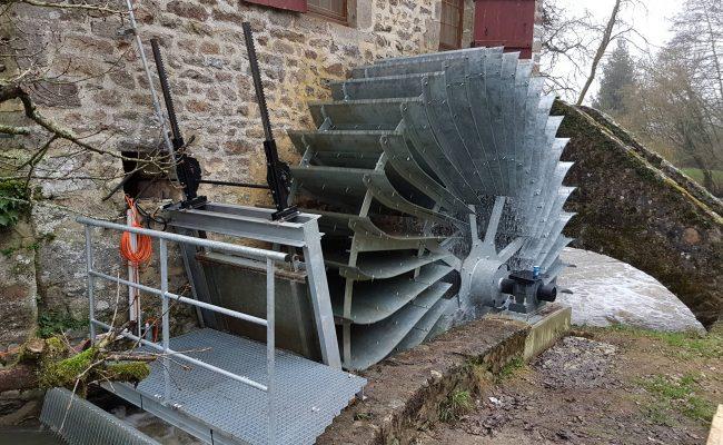 Roue du Moulin du Val