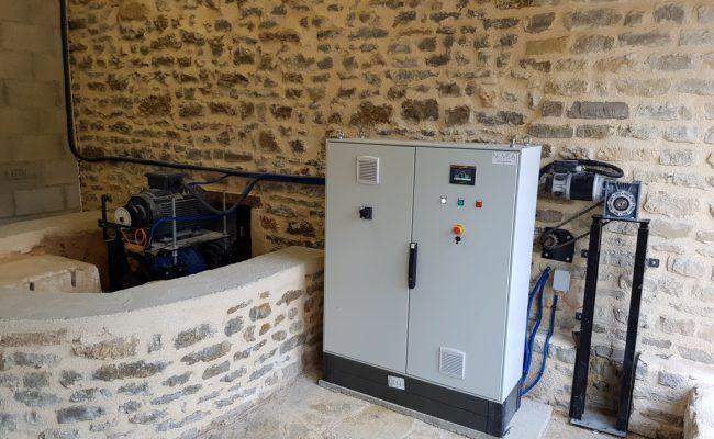 Moulin de Chatillon production électrique