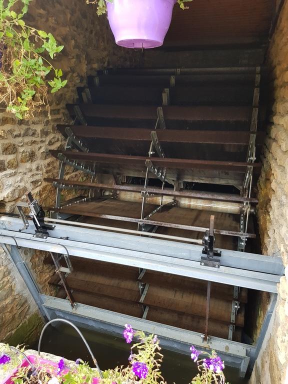 Moulin de Chatillon roue à aubes