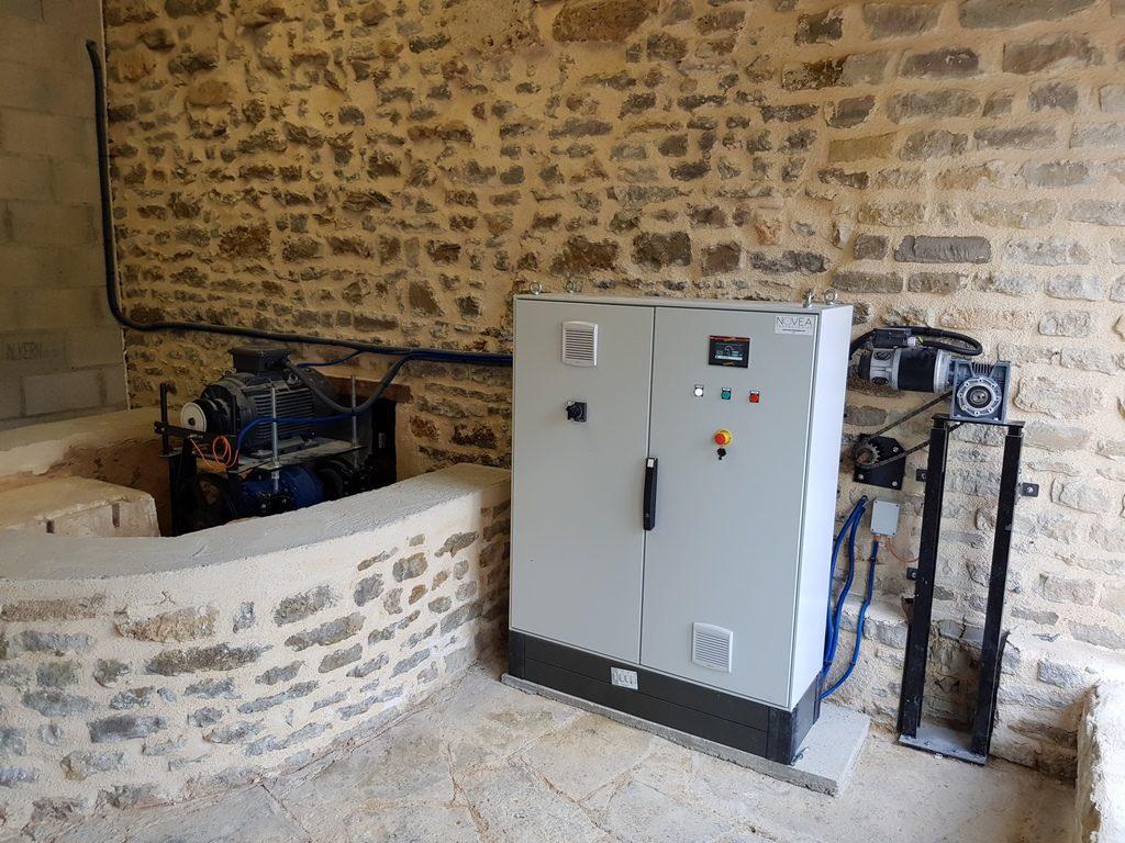 Chatillon production hydroélectrique contrat EDF