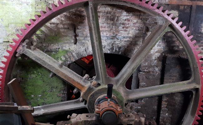 Moulin de Pidoux – axe, pallier