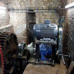 Mécanique moulin hydraulique