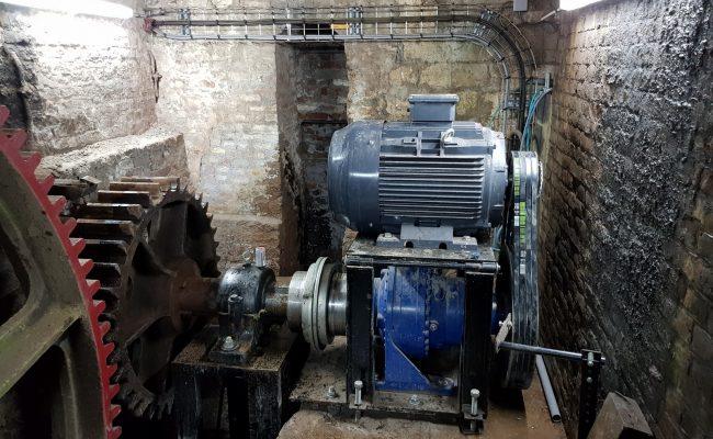 Moulin de Pidoux – mécanique