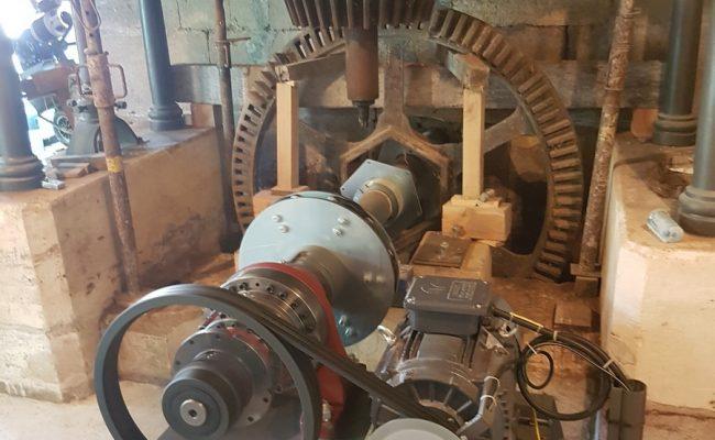 Moulin de Vergnée intérieur