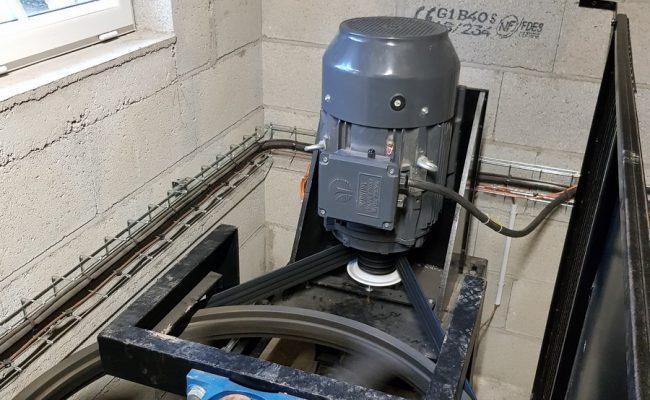Moulin de la Forge de Fouques – turbine
