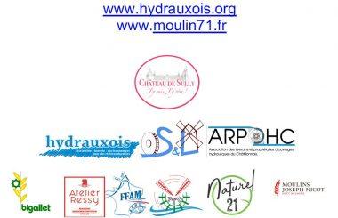 10ème anniversaire Moulins en Saône et Loire – 7ème Rencontres Hydraulique Hydrauxois