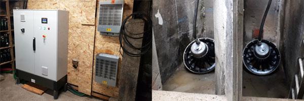 microcentrale hydroélectrique au Moulin Neuf en Bretagne